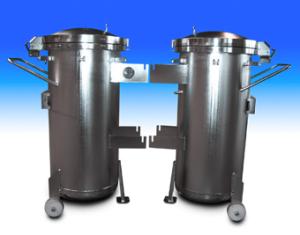 Behälter elektropoliert epolieren elektrolytische polieren Trommelteile Trommelware Gestellteile Gestellware