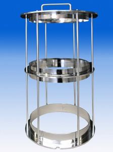 Edelstahl elektropoliert elektrolytisch polijsten